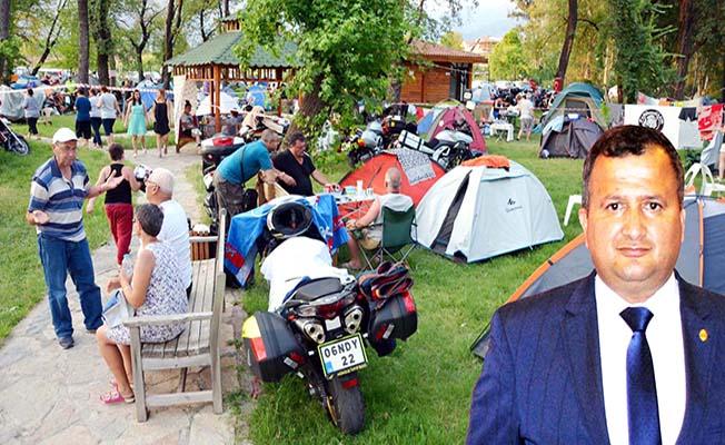 Çorum'da Motosiklet Festivali
