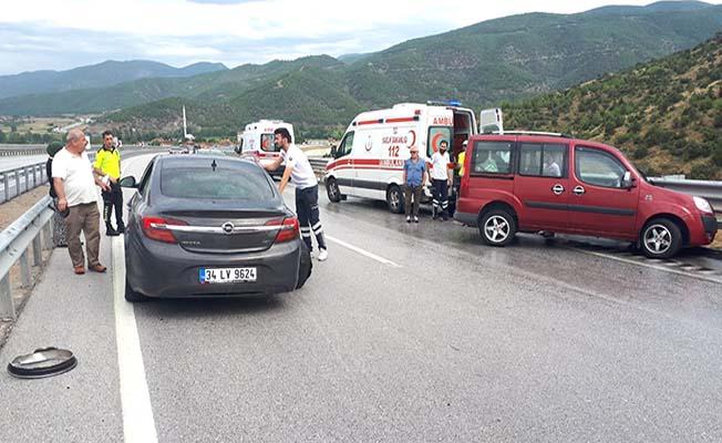 Beygircioğlu'nda kaza, 3 yaralı
