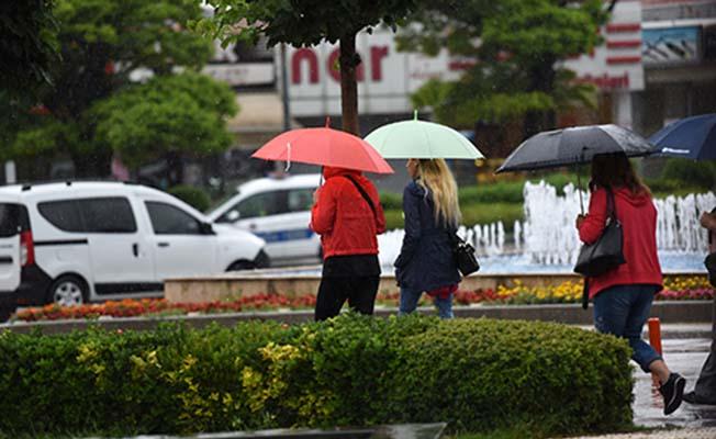 25 ile yağış uyarısı