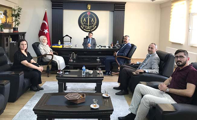 AK Parti'den adli yıl ziyareti