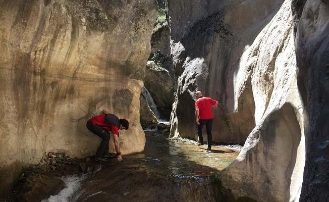 Bu kanyon dağcıların yeni gözdesi