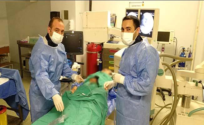Hastanede bir ilk daha