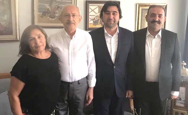 Kılıçdaroğlu'nu evinde ziyaret etti