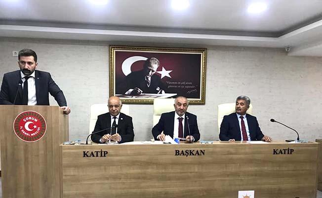 MHP İl Başkanı İl Genel'de konuştu