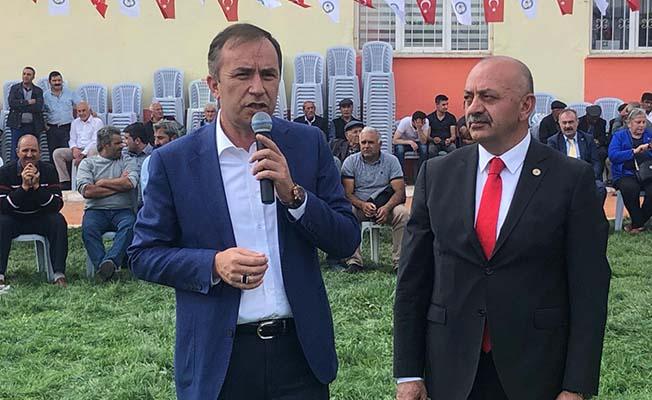 Ortaköy'e istihdam sözü verdi