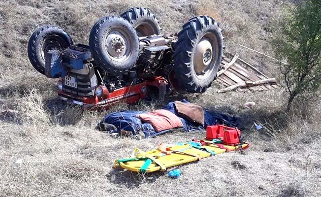 Sürücü öldü, eşi yaralı