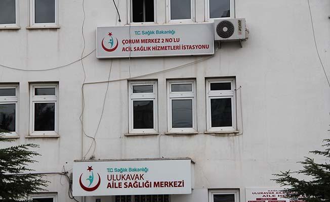 Yıkım kararı verilen binada sağlık hizmeti