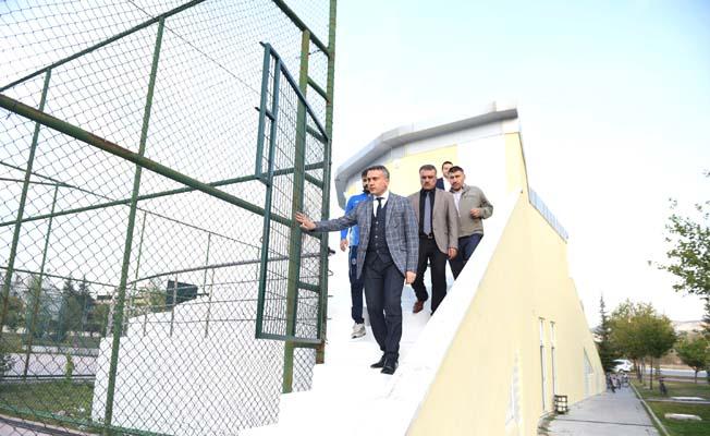 Mehmetçik Parkı tesisleri yenilendi