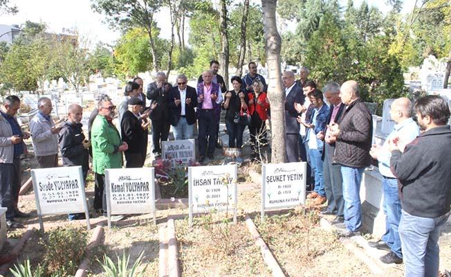Mustafa Yolyapar kabri başında anıldı