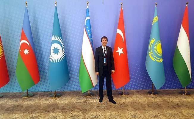 Özbekistan'a gitti