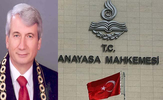 Recep Kömürcü Anayasa Mahkemesi Başkanvekili oldu