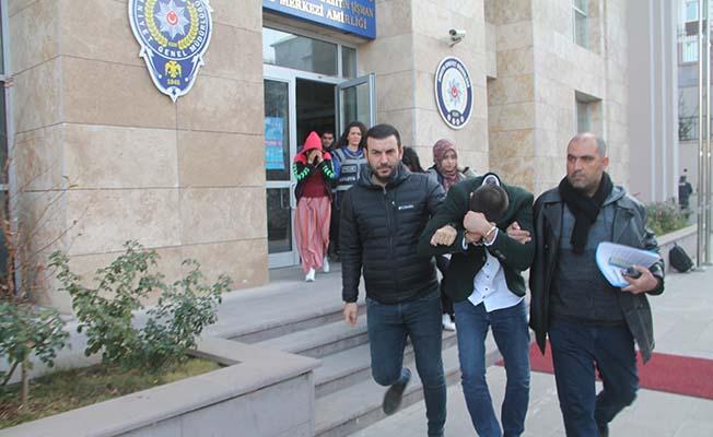 4 şüpheli tutuklandı
