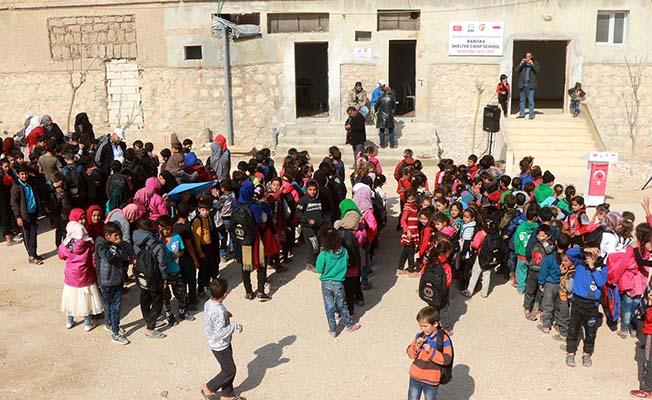 İdlib'e yeni okul