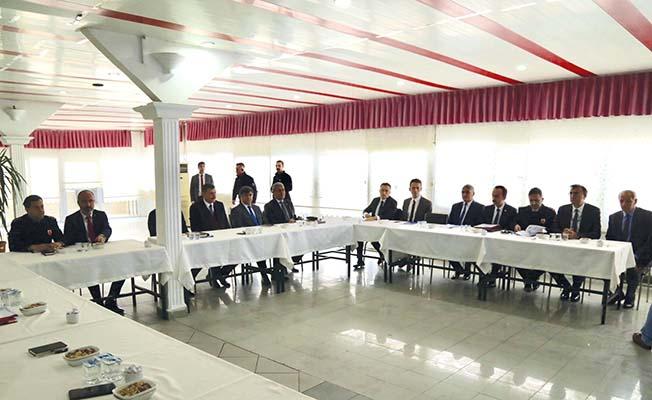 İlçelerde koordinasyon toplantısı
