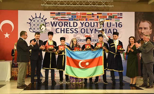 Olimpiyat Şampiyonu kardeş Azerbaycan