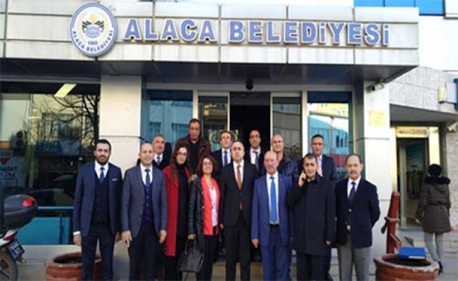 Alaca'da e- Fatura toplantısı