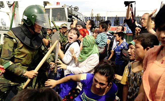 Çorum'da Doğu Türkistan eylemi