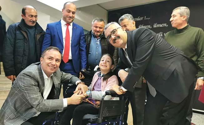 Erdoğan'ın selamıyla teslim ettiler