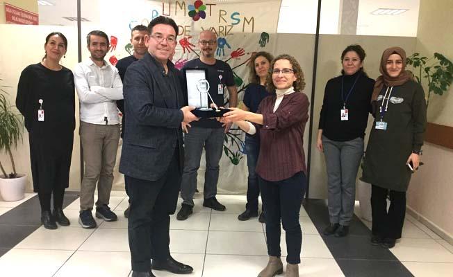 Toplum Ruh Sağlığı Merkezi'ne ödül