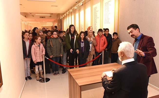 Şehitler müzesine ilgi