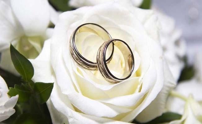 Çorum'da bir yılda 3508 çift evlendi