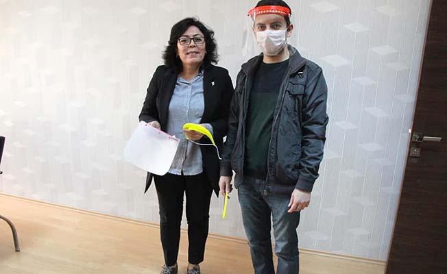 Belediye maske üretimine sponsor oldu