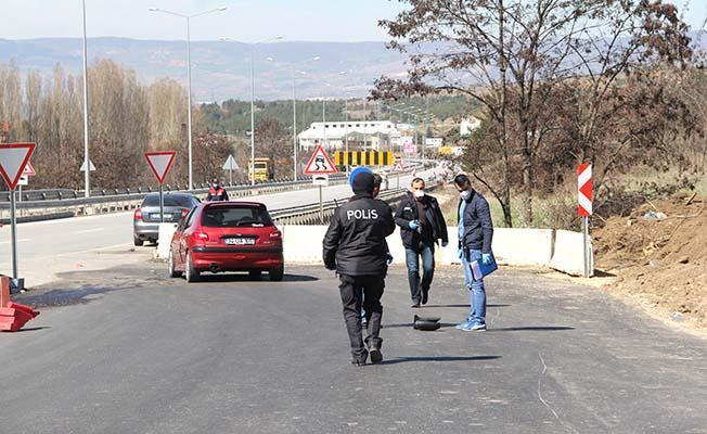 Sağlıkçıya çarpan  sürücüye 9 bin lira ceza ve adli işlem