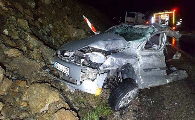 Alaca Yolu'nda feci kaza, 1 ölü