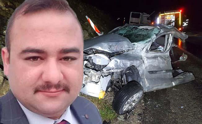 Kaza kurbanı genç toprağa verildi