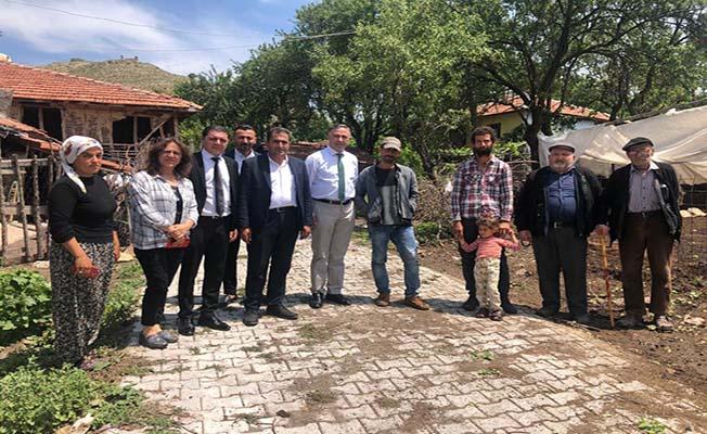 CHP'den mağdur aileye destek sözü