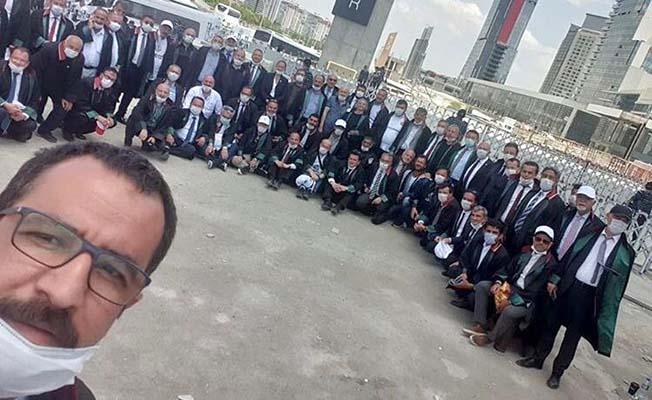 Çorum Barosu Başkanı da Ankara'da