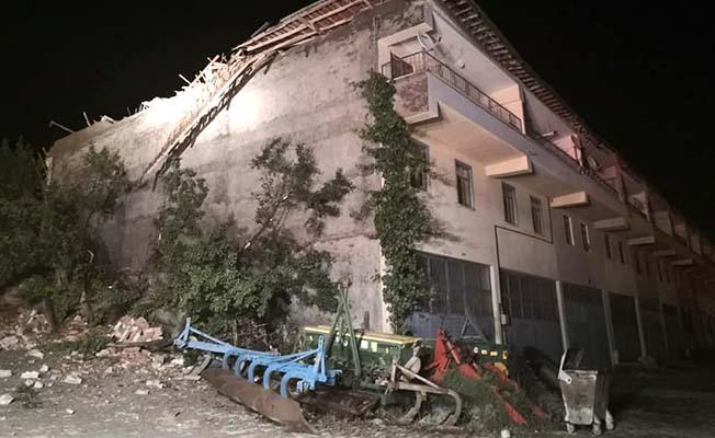 Galericiler Sitesi'ni fırtına vurdu