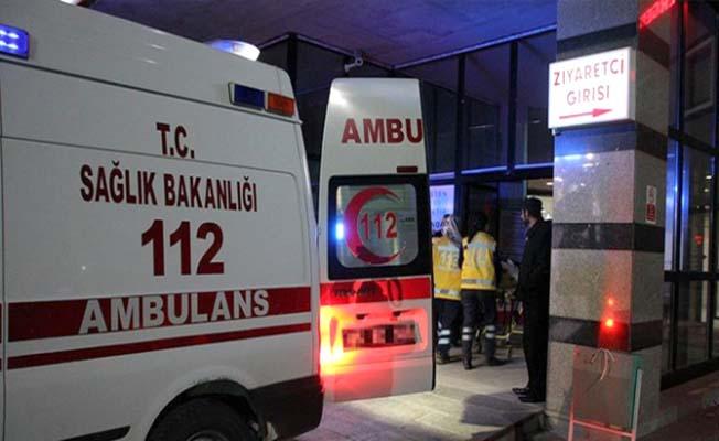 İkiz kardeşler kazada yaralandı
