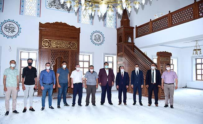 Kanuni Cami ibadete açılıyor
