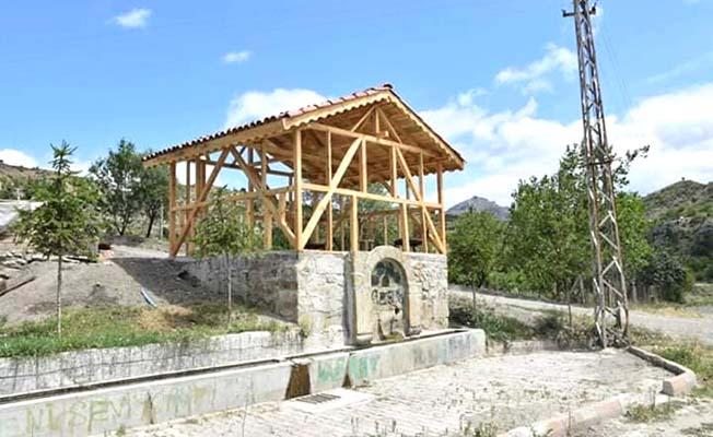Şerbetli Pınarı restore edildi