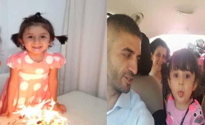 Minik Aysime kazada hayatını kaybetti