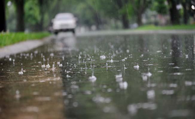 Çok sayıda il için yağış tahmini