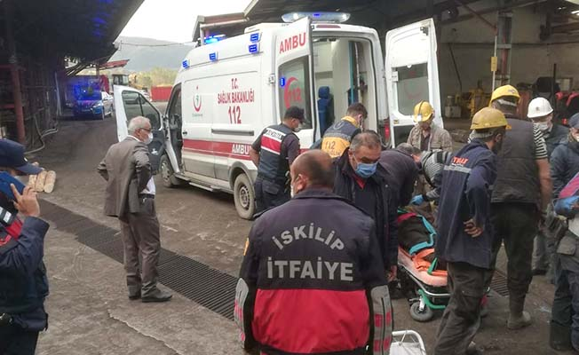 Grizu patlaması: 1 ölü, 3 yaralı