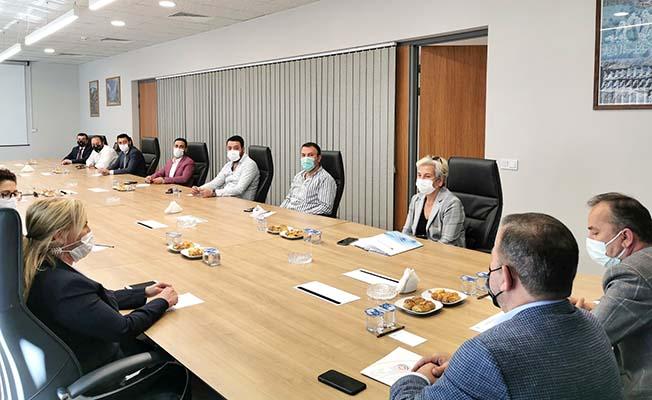 Medikal firmaları ile toplantı
