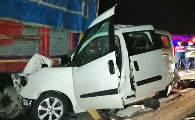 Ankara yolunda feci kaza: 1 ölü, 3 yaralı