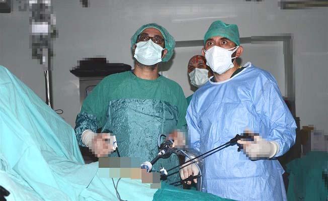 Bu ameliyat Çorum'da ilk