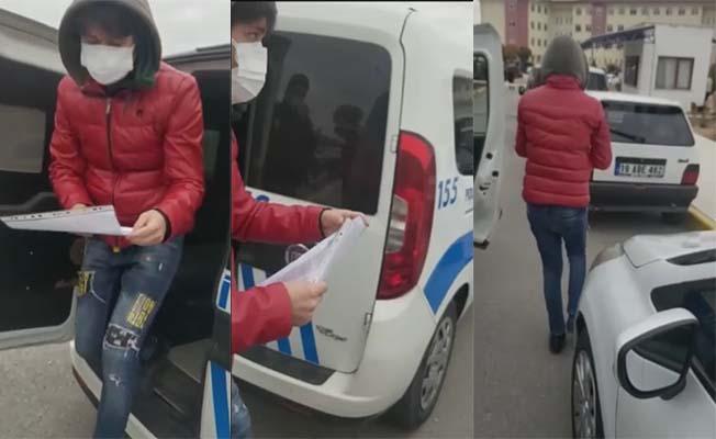 Sınava geç kalanların imdadına polis yetişti