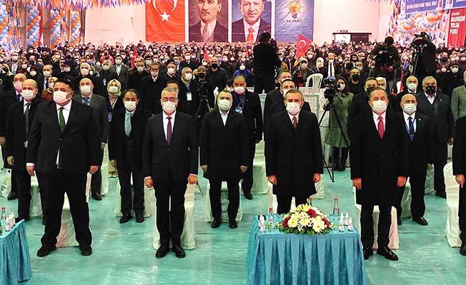 AK Parti'de kongre başladı