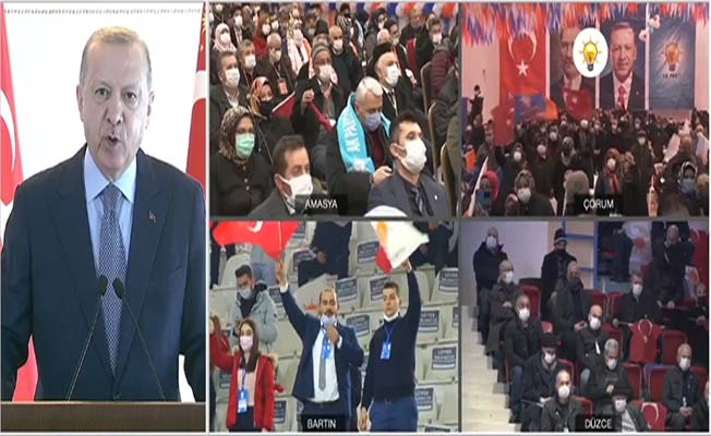 Erdoğan'dan Çorum'a mesaj
