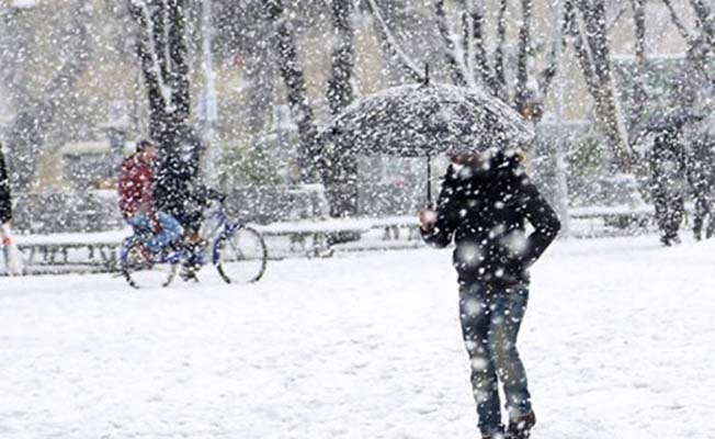 Bugün öğle saatlerinde yoğun kar geliyor