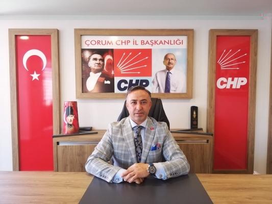 Tartışmalara Çorum CHP de katıldı