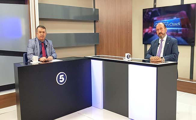 TV 5'te konuştu, 'Türkiye'nin yolu açık'