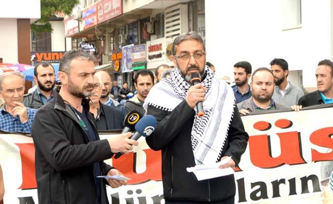İsrail'in haksız, hukuksuz işgallerine tepki
