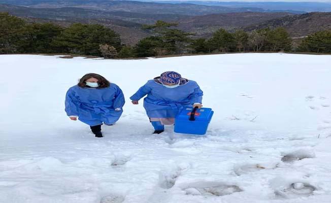 'Kar, kış' demeden yollardalar