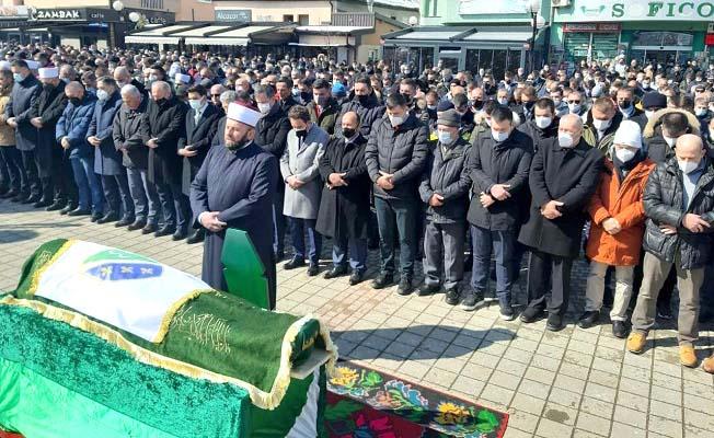 Kavuncu, Husoviç'in cenazesine katıldı
